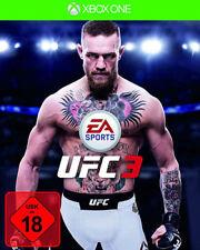 Microsoft XBOX - One XBOne Spiel * EA Sports UFC 3 * 2018 * Boxen *NEU*NEW*18*55