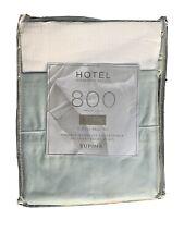 New Hotel Signature Sateen 800 Tc Supima Cotton Sheet Set Cal King Pearl Blue