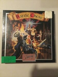 Battle Chess 1988 vintage PC IBM/Tandy 3.5 and 5.25 disks game Big Box (Sealed)
