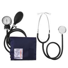 Manual Arm Sphygmomanometer Blood Pressure Gauge with Stethoscope Health Monitor