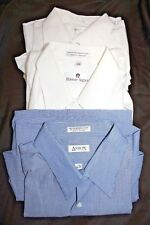 Men's Lot 3 Dress Shirts Arrow, Etienne Aigner, Van Heusen Size 17 1/2 34/35