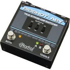 Radial Engineering BigShot ABY True-Bypass Amplifier Switcher Big Shot PRISTINE!