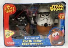 Playskool Mr Potato Head Star Wars Darth Tater Spudtrooper Collector Tin Set