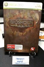 Bioshock Steelbook Limited Edition steel metal book case xbox 360