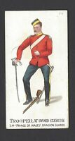 GALLAHER - TYPES OF BRITISH ARMY (51-100, PIPE) - #74 TROOPER 3RD DRAGOON GUARDS