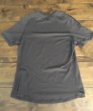Men Lululemon Shirt Run Pace Cycling Running Reflective Short Sleeve S/M Htf