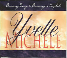 YVETTE MICHELE Everyday & everynight REMIX & INSTRUMENTAL CD single SEALED USA