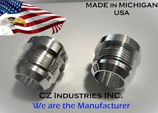 AN16, 16 AN QTY:2 MALE BILLET 6061T6 ALUMINUM WELD ON / WELD IN FITTING BUNG