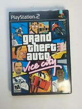 Pre Owned PS2 Video Game - GTA Vice City - Grand Theft Auto - Playstation Two Z