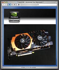 nVidia GTX 970 4GB 4K Video Card * Apple Mac Pro 3,1-5,1 *680 780 *macOS 10.12