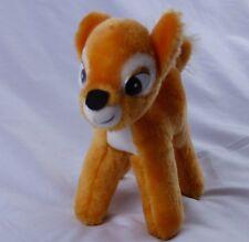 "Vtg Plush Bambi 7"" Small Stuffed Animal Deer Walt Disney Productions Canasa Trad"