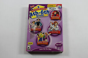Adventure Workshop Grades 4-6 Age 8-12 PC CD-ROM 4 Discs