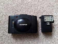 Olympus XA2 35mm Point and Shoot Film Camera + A11 Flash Unit TESTED
