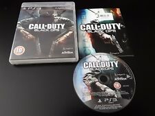 CALL OF DUTY BLACK OPS PS3 GAME COMPLETE PLAYSTATION 3 VGC PAL 18+ FREEPOST UK