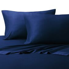 King Size Bamboo Sheet Sets Super Soft 100% Viscose from Bamboo-Color Royal Blue