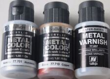 Vallejo Metal Color 32 MM ( 100ml= 24,96 €) 17 Various Colours