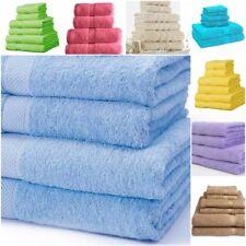Towels Set 100% Cotton Bath Sheet Hand Large Bale 500 GSM Bathroom & 6 Piece Se