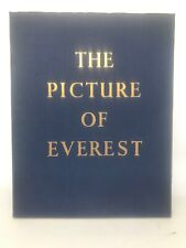THE PICTURE OF EVEREST Sir John Hunt 1954 1st Edition - Himalayas