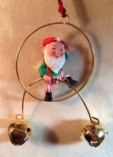 "Hallmark Keepsake Balancing Elf Ornament 1989 Jingle Bells - 4"" High"