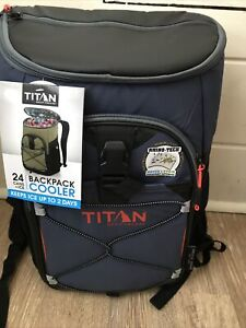 Artic Zone Titan 24 Can Deep Freeze Backpack Cooler New With Tags