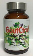 GoutCtrol - Control Uric Acid Levels,Arthritic,Joint,Gout # 60 Vegi Caps