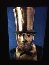 "Elie Nadelman ""Man In Top Hat"" Polish Sculpture Art 35mm Slide"