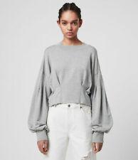 All Saints Medium Large 10 12 14 16 Top Sweatshirt Jumper Grey Casual NWT RRP 68