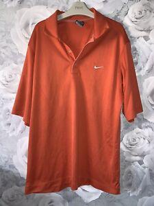 Mens Medium Nike Dryfit Polo Shirt
