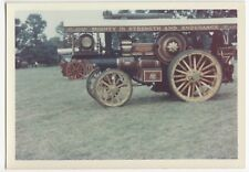 Fowler Showmans Engine Iron Maiden, FX 6661 at c 70's Rally PC Size Colour Photo