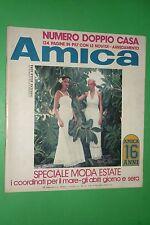 AMICA MODA 23/1974 MARIO SOSSI RAOUL CASADEI MARILYN MONROE NORMAN MILLER