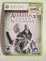 Assassin's Creed Revelations Signature Edition Xbox 360 One Compatible Fast Ship