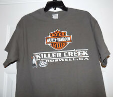 HARLEY DAVIDSON Motorcycles Motorcycle T-Shirt Men's LARGE L Killer Creek Shirt