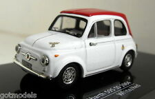 Vitesse 1/43 Scale 24506 Fiat Abarth 595 SS 1964 White/Red diecast model car