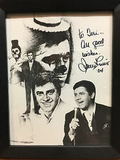 JERRY LEWIS Signed Original Autographed Photo 8x10 COA #2
