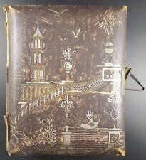 Victorian Illustrated Album For Cabinet Photos & CDV's, Chinoiserie Cover Design