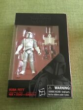 "STAR WARS THE BLACK SERIES BOBA FETT 3.75"" ACTION FIGURE PROTOTYPE ARMOUR"