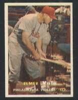1957 Topps #54 Elmer Valo EX/EX+ Phillies 131764