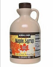 3 x Kirkland Signature Maple Syrup 1L / 100% Pure