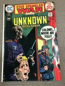 STAR SPANGLED WAR STORIES #183 : DC Comics Dec 1974 FN; Unknown Soldier, Kubert
