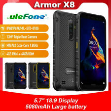 Ulefone Armor X8 Android 10 5.7'' Smartphone 5080mAh Rugged Waterproof 4GB+64GB
