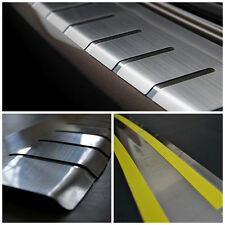 Rear Bumper Protector Stainless Steel Scuff Plate fit Opel Meriva B 2010-2017