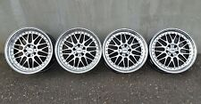 "RIAL Daytona 18"" 5x112 8.5/9.5 AUDI VW MERCEDES position allemande no BBS RS OZ AMG"
