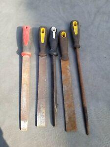 Engineering Files Job Lot/Hand Files/Metal Files/DIY/Workshop/Lathe/Milling