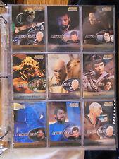 Star Trek: The Next Generation Profiles 2000 9 card Alter Ego subset
