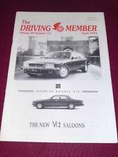 THE DRIVING MEMBER - April 1993 Vol 29 # 11