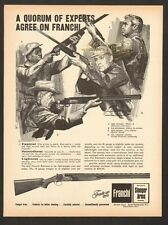vintage 1968 ad 6913 for Franchi Falconet 12&20 Ga. over and under Shotgun