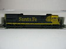 Kato n 176-171 diesellok at & SF u30c btrnr 7507 EE. UU. Santa fe (rg/aw/60s5)
