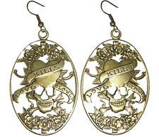 oval elegant cute dangle earrings C1114 vogue women girl love heart