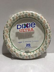 """DIXIE ULTRA LIMITED EDITION 10 1/16"""" (25.5cm) 20 PLATES MADE IN USA (PER 100PCS)"""