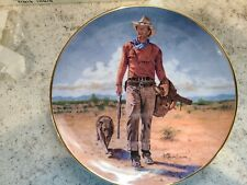 "John Wayne Franklin Mint Collector Plate, ""Hondo Lane, Calvary Scout """